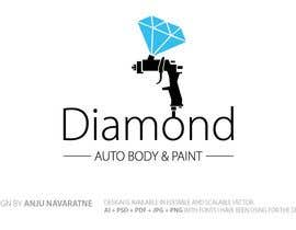 #33 for logo/business card for Automotive body/ paint shop by anjusnav