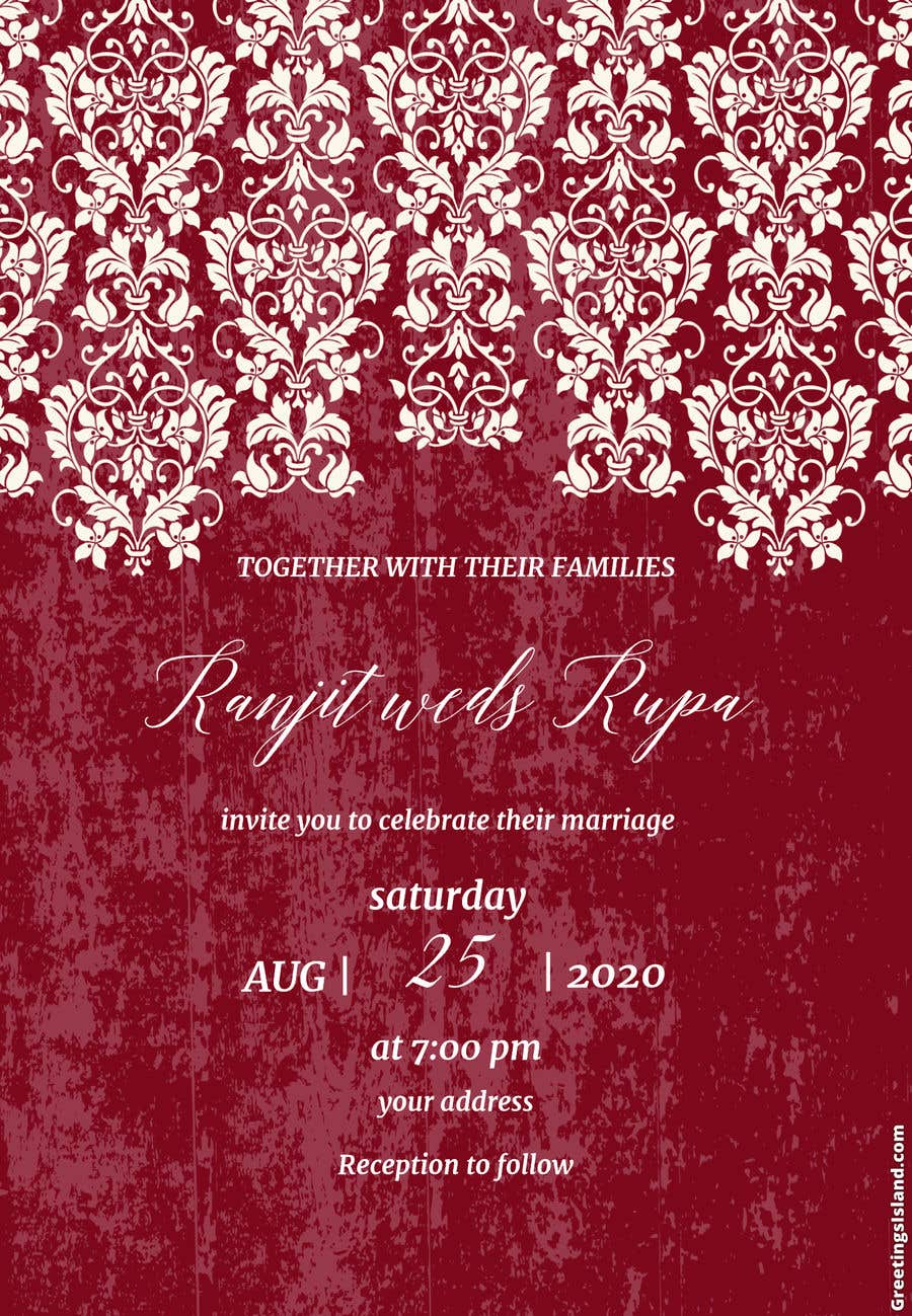 Entry #2 by aryan21182118 for Sikh Wedding Invite Insert Design ...