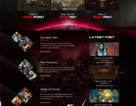 #3 for Design a Fantasy Game Website (PSD) - Homepage Only by saidesigner87