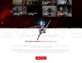 #17 for Design a Fantasy Game Website (PSD) - Homepage Only by saidesigner87