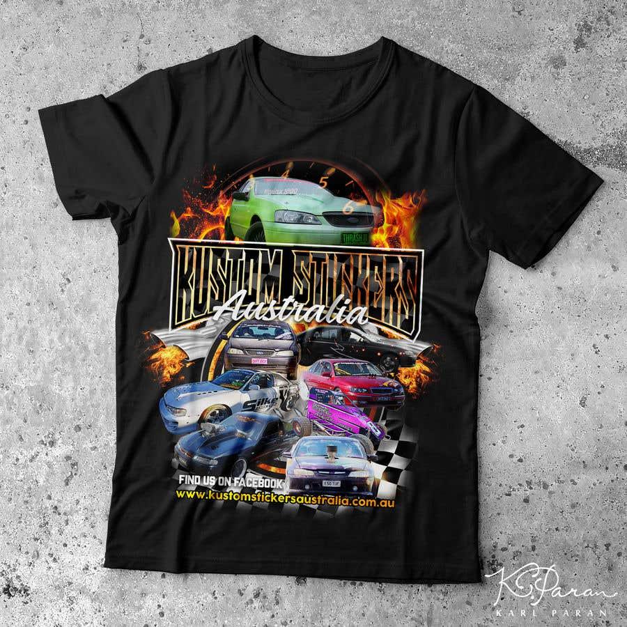 Entry #36 by karlparan for Cool Car/Business tshirt design | Freelancer