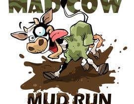 #54 para Logo Design for Mad Cow Mud Run por artinearth
