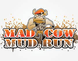 #107 para Logo Design for Mad Cow Mud Run por HimawanMaxDesign