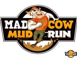#117 pentru Logo Design for Mad Cow Mud Run de către marcialarts