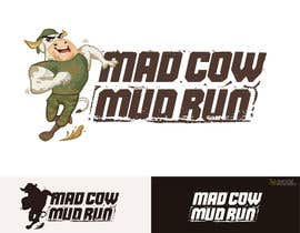 #78 para Logo Design for Mad Cow Mud Run por marcialarts