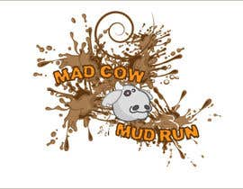 #104 para Logo Design for Mad Cow Mud Run por jAR13
