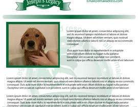 #23 untuk Newsletter Template for Animal Rescue developed in Illustrator oleh pupster321