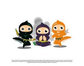 #38 for Kids Ninja Illustration af BarbaraRamirez