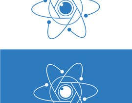 #425 for Logo of atom with camera lens as nucleus af anshalahmed