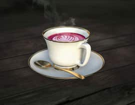 #1 for Photoshop 3 Cups: Height, Steam, Latte Art, Green Colour af DeluxeStudio