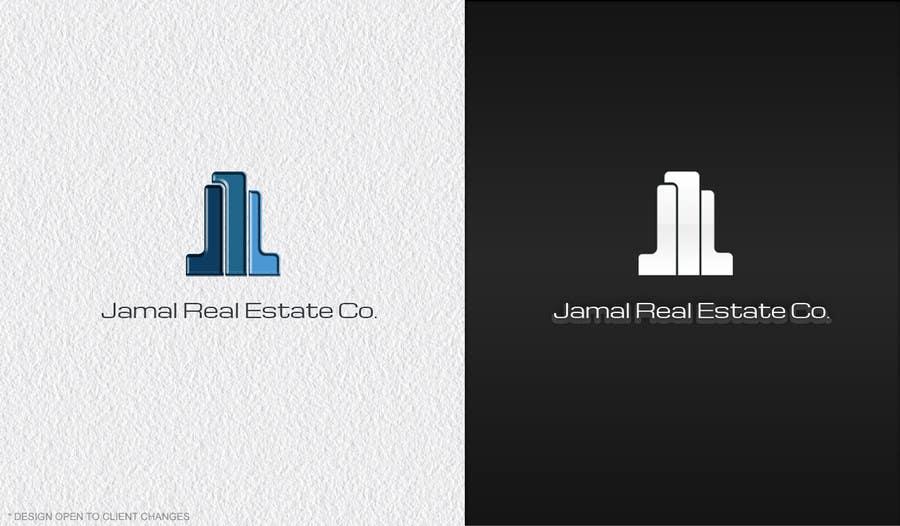 Penyertaan Peraduan #172 untuk Logo for Jamal Real Estate Co.