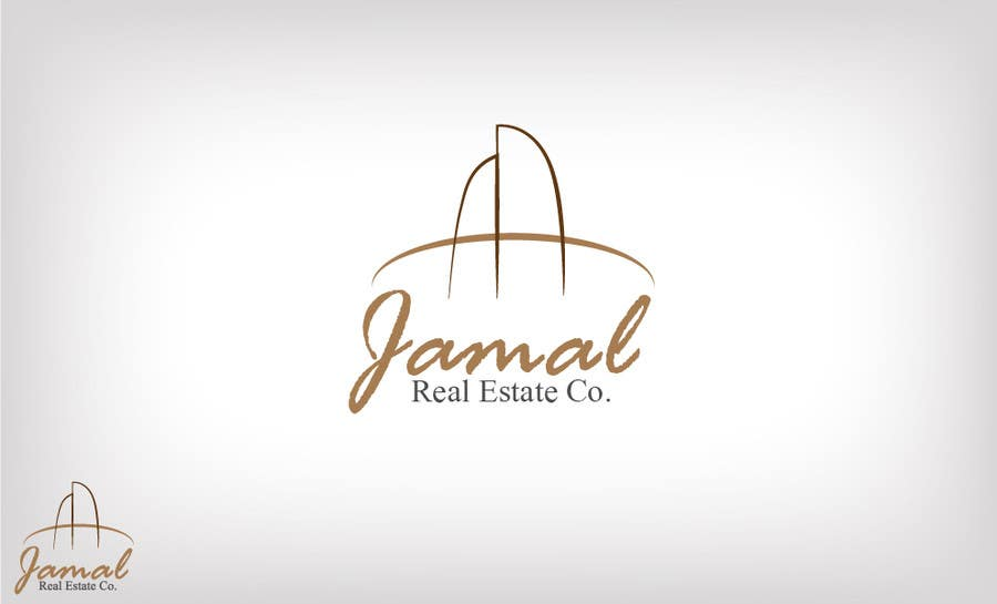 #98 for Logo for Jamal Real Estate Co. by brato93