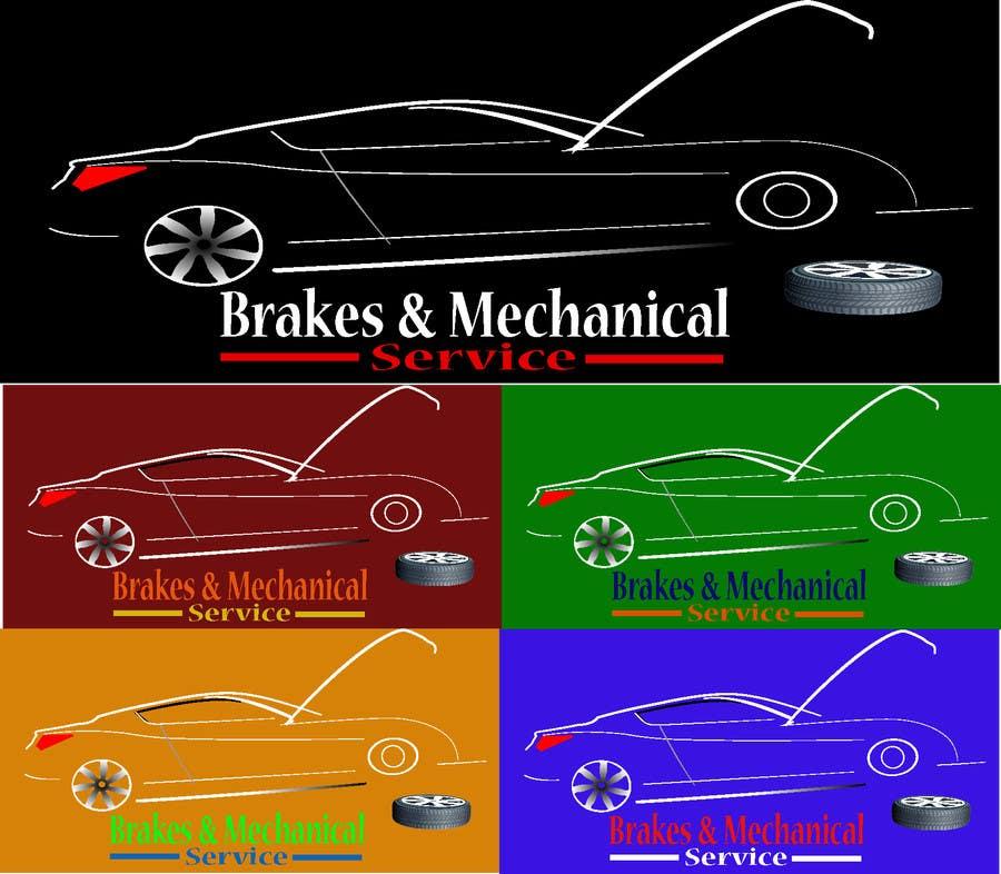 Penyertaan Peraduan #                                        23                                      untuk                                         Design a Logo for Brake & Mechanical Service