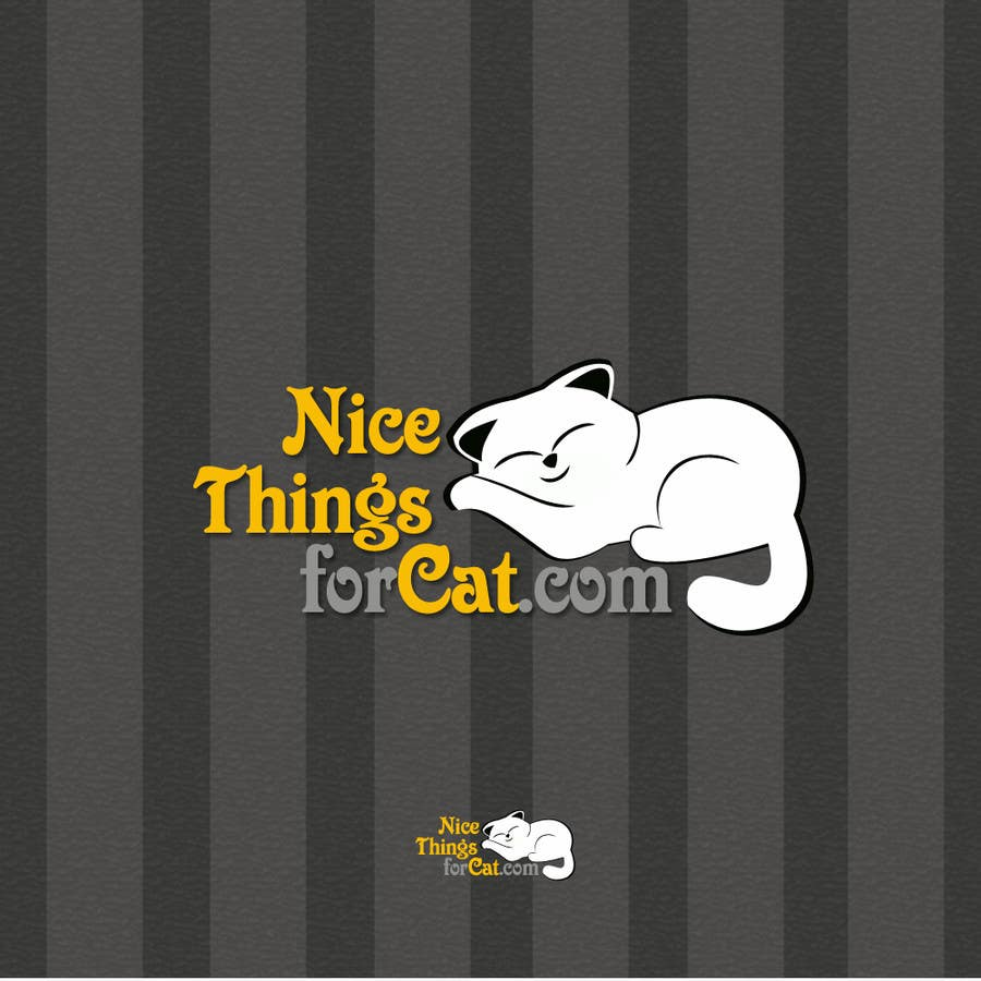Contest Entry #117 for Logo Design for Nicethingsforcats.com