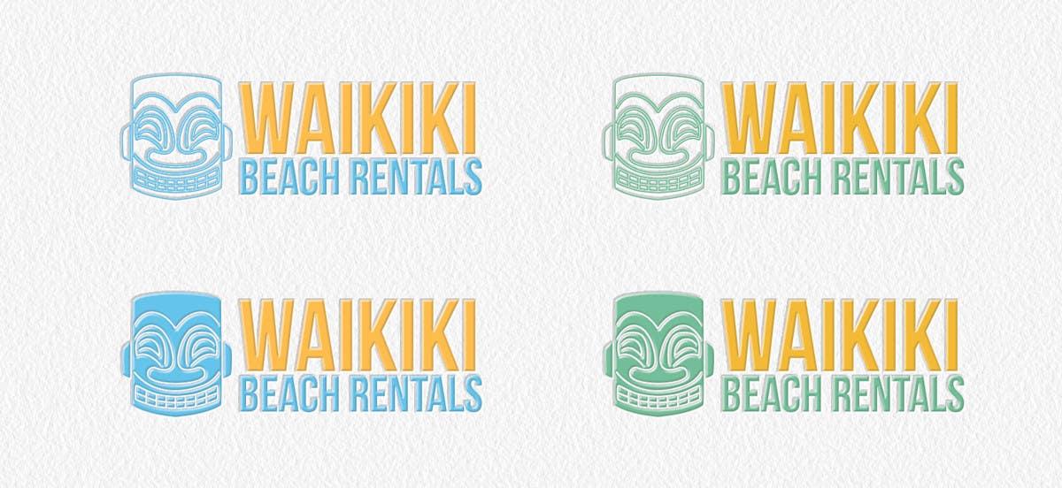 Penyertaan Peraduan #43 untuk Logo Design for WaikikiBeachRentals.com