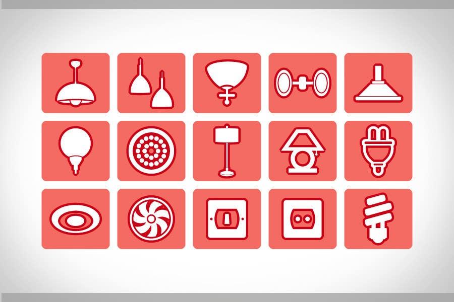 Proposition n°84 du concours Illustration Category Header/Tile Design for Coronet Lighting