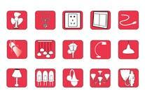 Proposition n° 73 du concours Graphic Design pour Illustration Category Header/Tile Design for Coronet Lighting