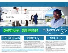 #4 สำหรับ Design TheHousecallMD.com Website โดย kalyanparbat