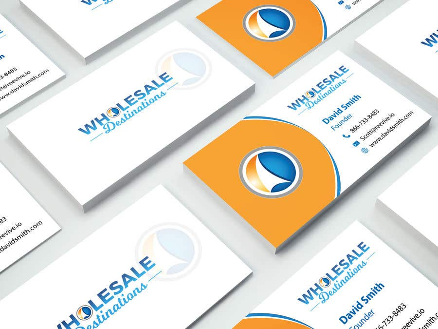 Entry #12 by designnmaker4 for Travel Agency business card | Freelancer