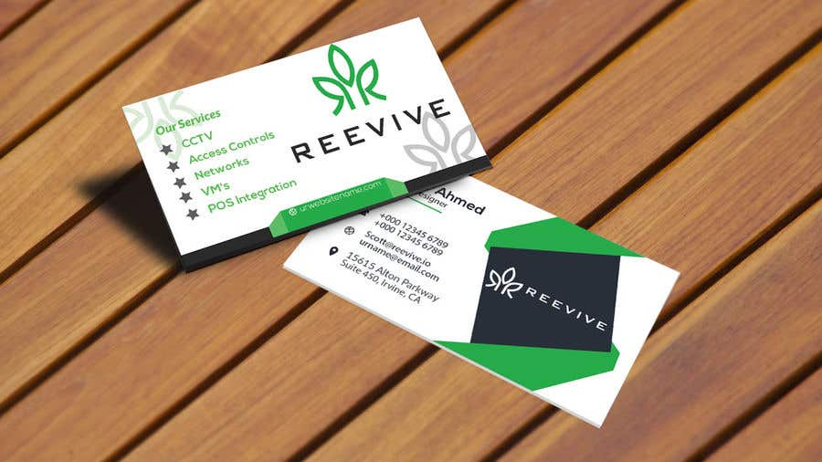 Contest Entry 286 For Business Card Design