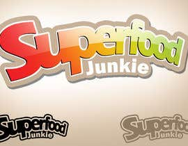 #108 para Logo Design for Superfood Junkie por rogeliobello