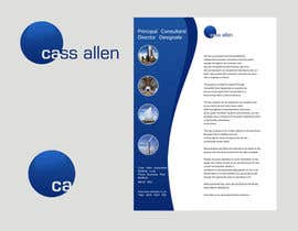 nº 131 pour Logo Design for Cass Allen Associates Ltd par ezra66