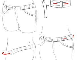 #41 for Design a Fashionable Jeans (Long-Term Work) by Ellist