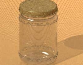 #4 untuk Glass Jar design 500g and 250g plus caps and label STEP files for making moulds and dies. oleh lahiruCAD