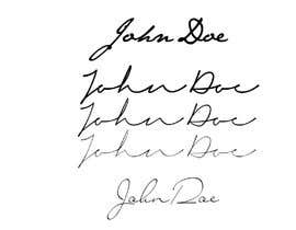 #2 for Looking for a professional hand drawn digital signature similar to the below examples for the name Ben Griffin. by Acheraf