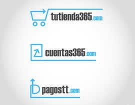 #34 for Create 3 logos for e-commerce sites with same graphic line by mayk4b