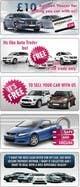 Миниатюра конкурсной заявки №37 для Graphic Designs for Car Selling Website