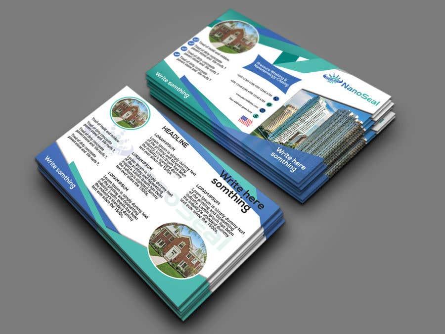 Contest Entry #22 for NanoSeal Brochure & Doorhanger