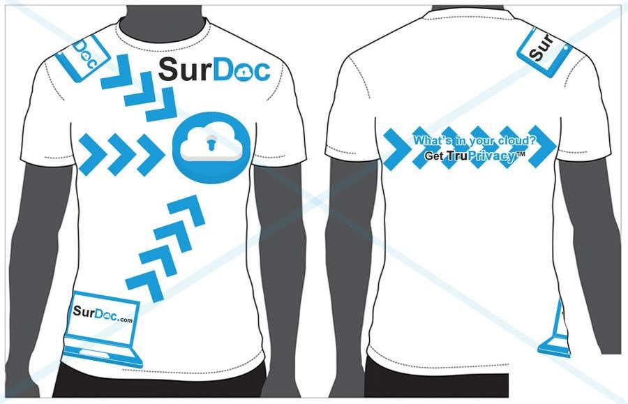 Inscrição nº                                         52                                      do Concurso para                                         ***T-SHIRT*** for SurDoc.com - Bold, modern, innovative, fresh!!!