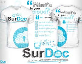 #89 for ***T-SHIRT*** for SurDoc.com - Bold, modern, innovative, fresh!!! af EzaiLX