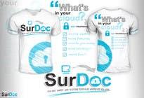 Graphic Design Inscrição do Concurso Nº87 para ***T-SHIRT*** for SurDoc.com - Bold, modern, innovative, fresh!!!