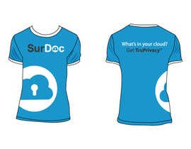 nº 15 pour ***T-SHIRT*** for SurDoc.com - Bold, modern, innovative, fresh!!! par HeSheUs