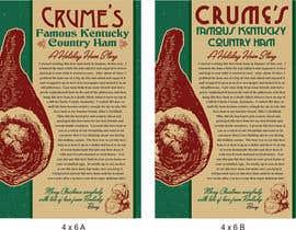 nº 205 pour Holdiay Ham Gift Label par reddmac