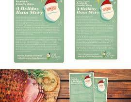 nº 193 pour Holdiay Ham Gift Label par kanulk