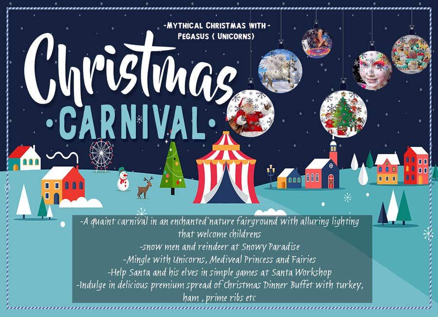 Contest Entry #87 for Design Christmas Carnival Marketing Material