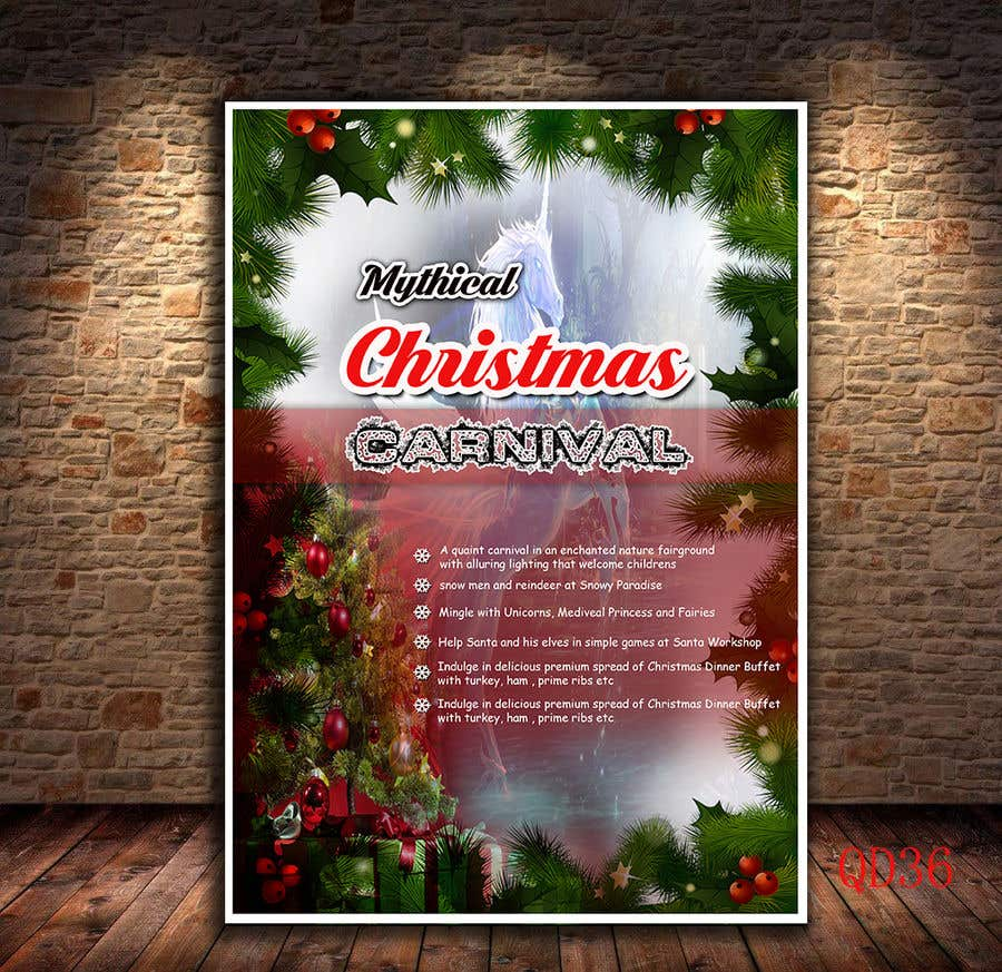 Contest Entry #88 for Design Christmas Carnival Marketing Material