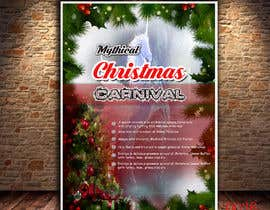 nº 88 pour Design Christmas Carnival Marketing Material par sifatmirza1311