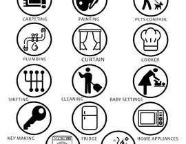 nº 3 pour Design Icons for App par hamzahanif456