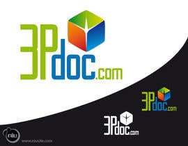 #214 for Logo Design for 3pdoc by tatianaplazas