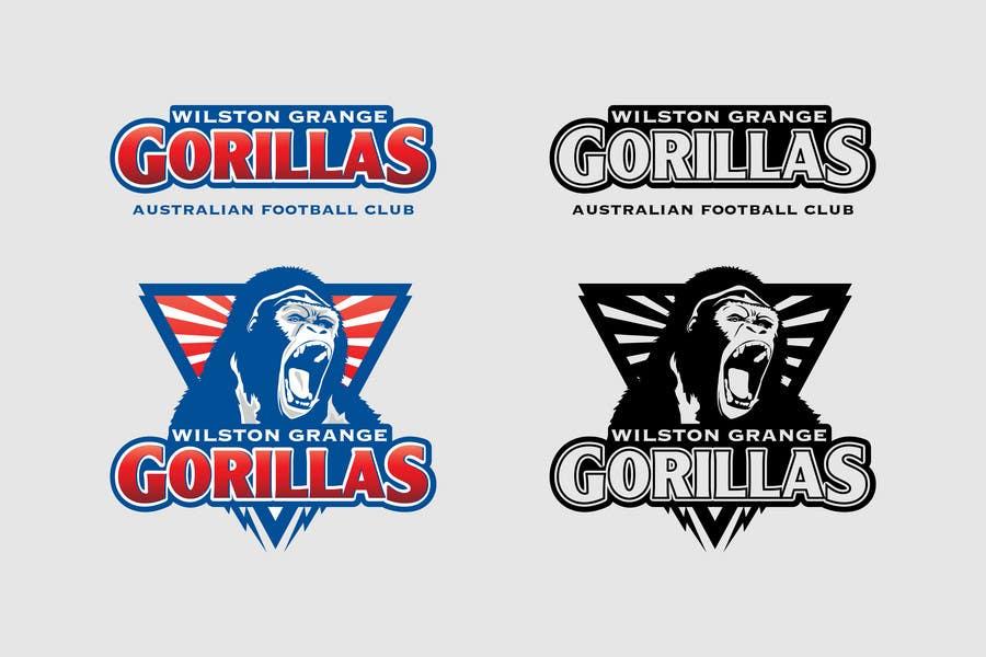 Inscrição nº                                         128                                      do Concurso para                                         Logo Design for Wilston Grange Australian Football Club