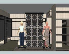 #5 dla Exterior and Interior Design for a High-end Fashion Retail Store -- 3 przez dodyardiansyah