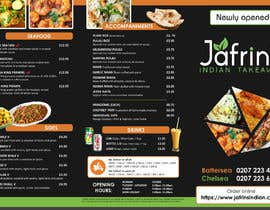#43 pentru DESIGN INDIAN FOOD MENU de către sujithnlrmail