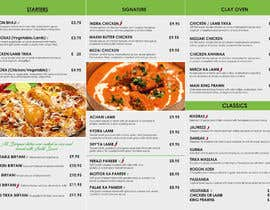 Nro 32 kilpailuun DESIGN INDIAN FOOD MENU käyttäjältä rahman4akt