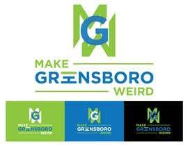 "hafiz62 tarafından LOGO ""Make Greensboro Weird"" için no 160"