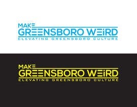 "DesignInverter tarafından LOGO ""Make Greensboro Weird"" için no 284"