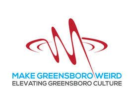 "imamhossain786 tarafından LOGO ""Make Greensboro Weird"" için no 186"